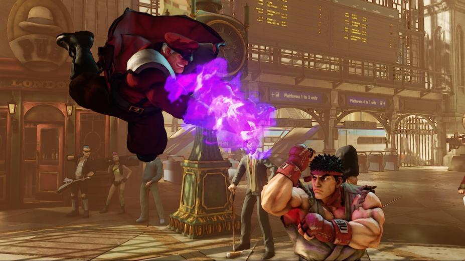 e3 2015:《街头霸王5(street fighter 5)》最新视频 感叹春丽的腿又变
