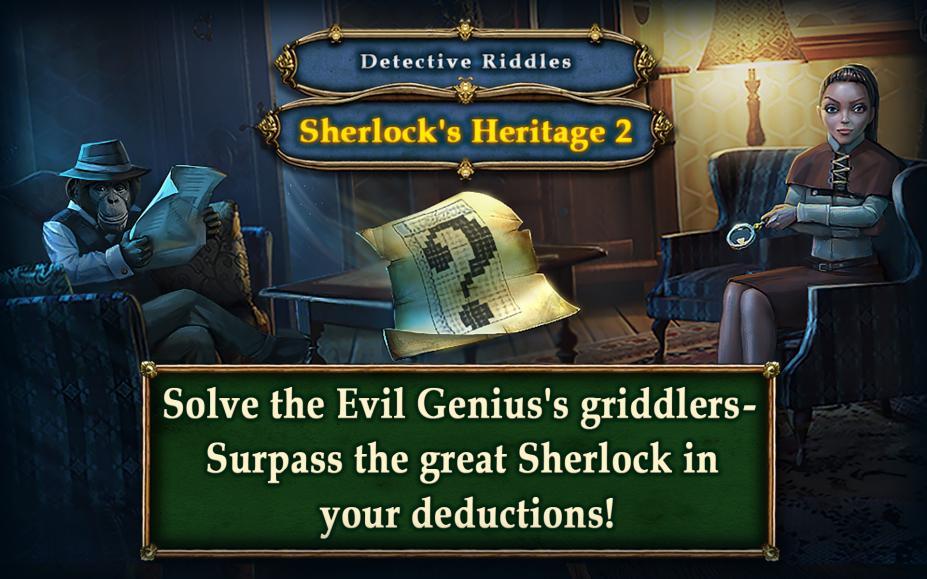 《解谜侦探:福尔摩斯的遗产2》游戏截图