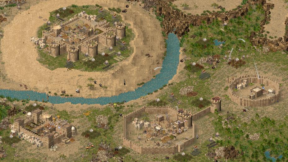 《要塞:十字军东征》游戏截图