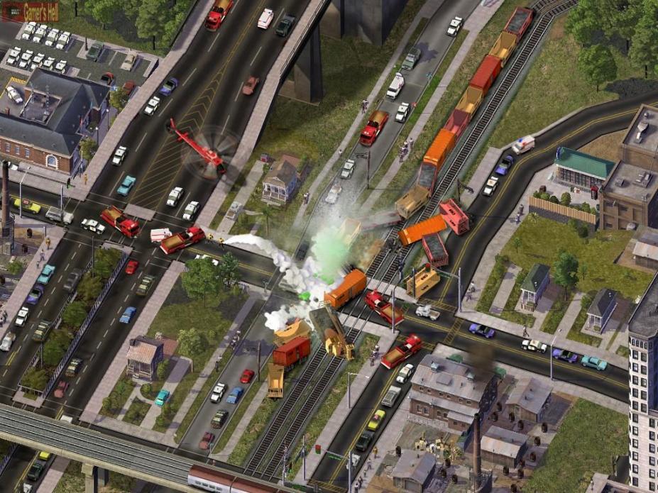 《模拟城市4》游戏截图