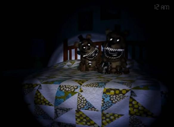 《玩具熊的五夜后宫4》游戏截图