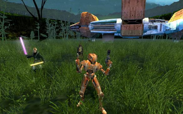 《星球大战之共和国武士2》游戏截图