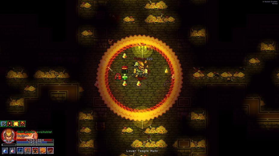 《像素黑暗史》游戏截图