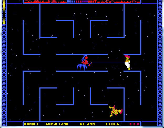 《蕾丝火星蜘蛛女王》游戏截图