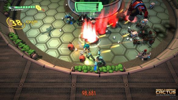 《卡图斯:进击的机器人》游戏截图