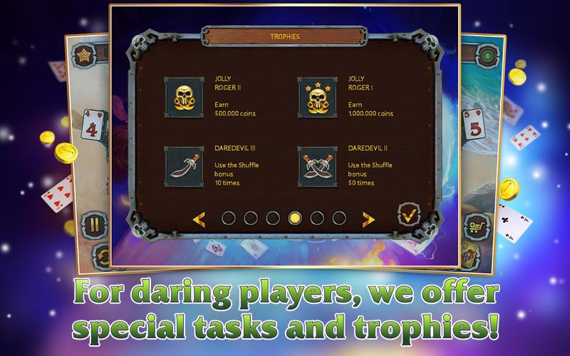 《海盗纸牌3》游戏截图