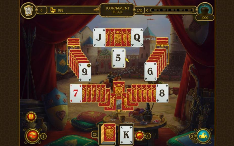 《骑士纸牌3》游戏截图
