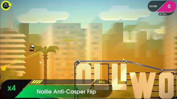 《像素滑板2:欢迎来到奥莱坞》游戏截图2