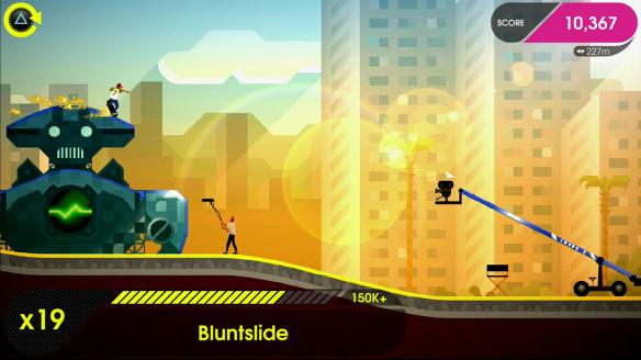 《像素滑板2:欢迎来到奥莱坞》游戏截图4
