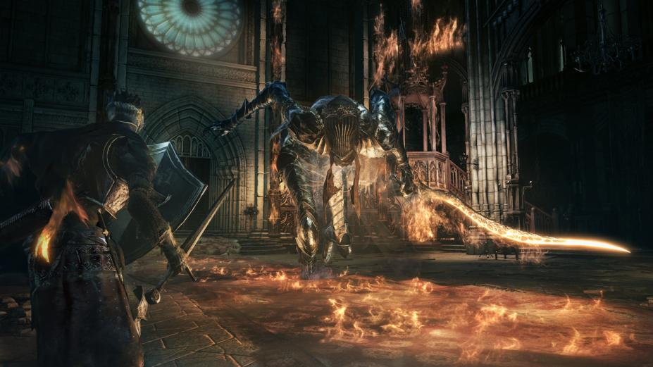 《黑暗之魂3》游戏截图4