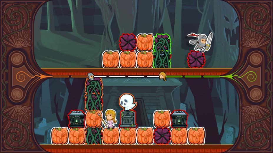 《骑士与少女》游戏截图