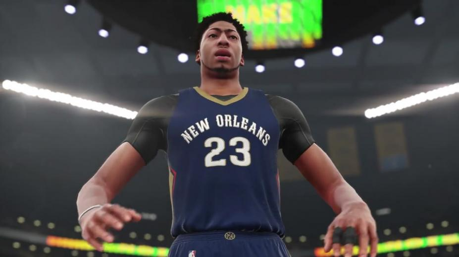 《NBA 2K16》游戏截图-2(1)