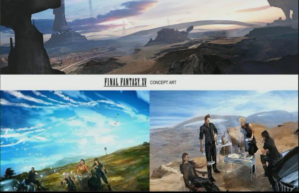 《最终幻想15》概念艺术及最新截图欣赏(1)