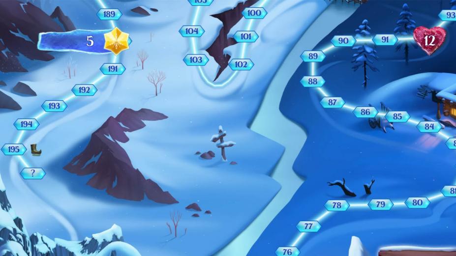 《冰冷天降:雪球大戰》游戲截圖