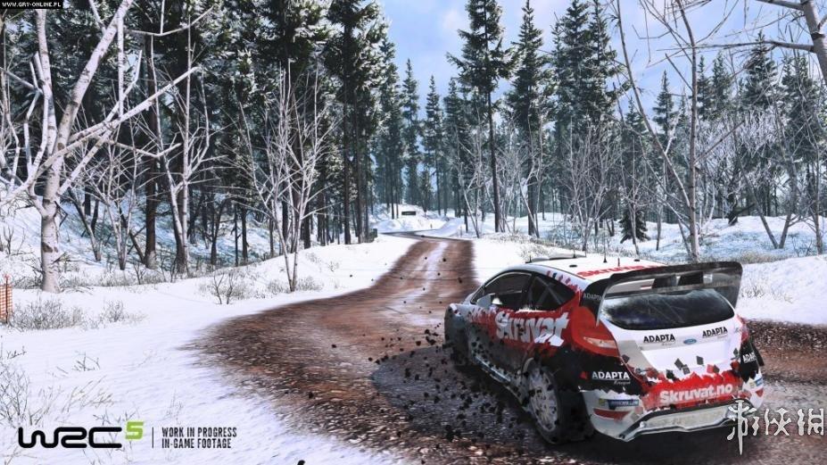《世界汽車拉力錦標賽5》游戲截圖