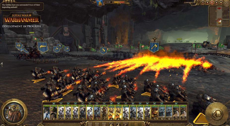 《战锤:全面战争》游戏高清截图