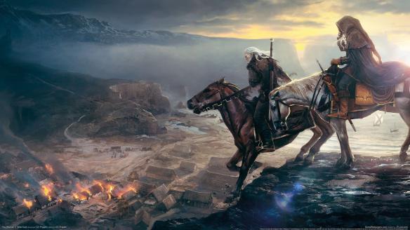 《巫师3:狂猎》白狼希里高清壁纸