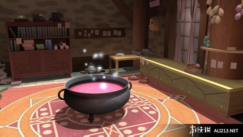《索菲工作室:不可思議之書的煉金術士》游戲截圖