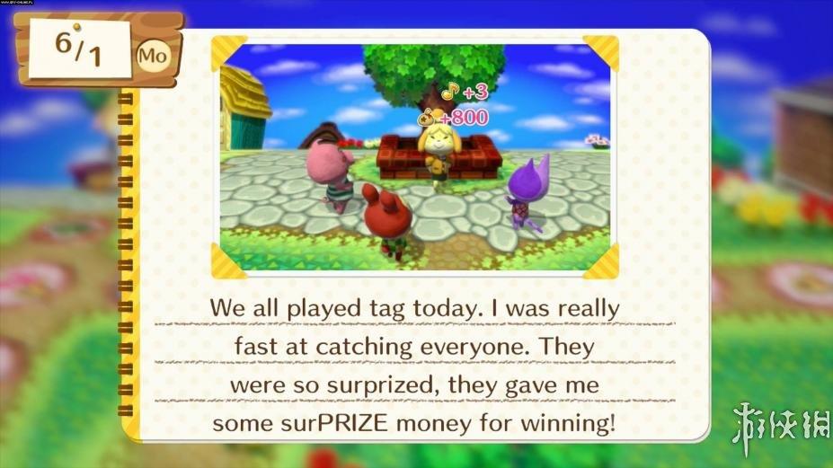 《动物之森:amiibo节日》游戏截图