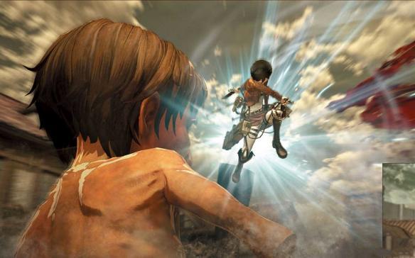 《进击的巨人》游戏截图