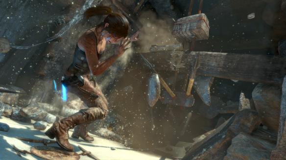 《古墓丽影:崛起》游戏截图6