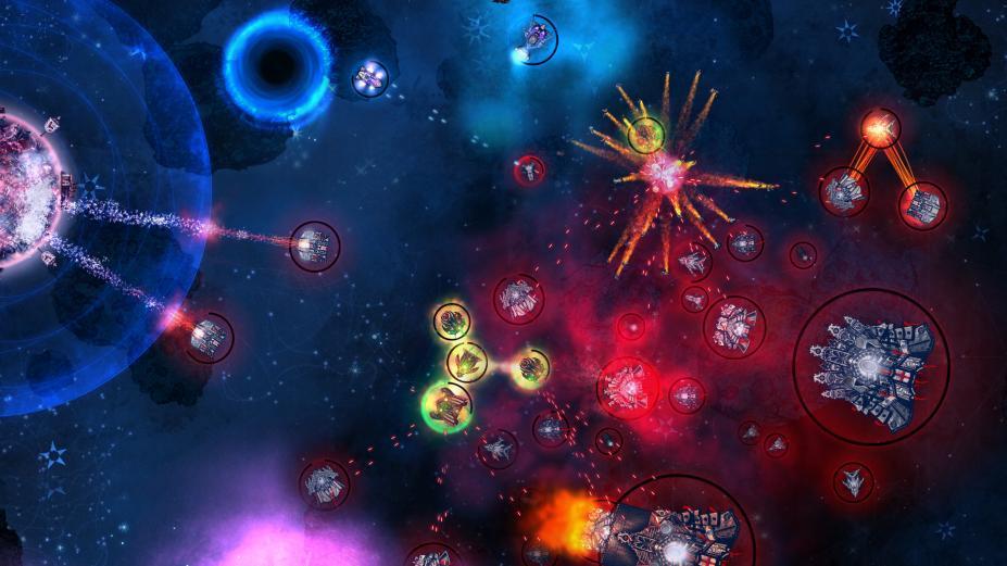 《冲突:革命性的太空战》游戏截图