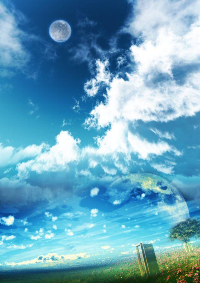 大自然的清新 二次元唯美风景图集欣赏图片 游侠图库图片