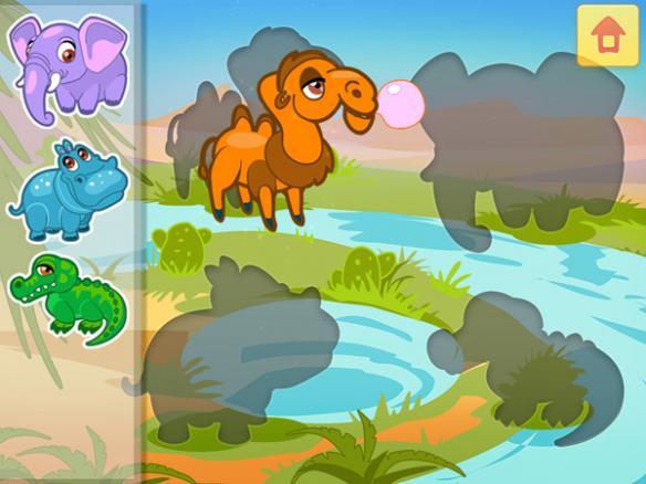 《儿童动物园1-3》游戏截图