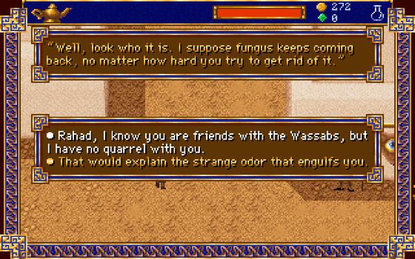 《阿拉丁传奇:精灵的诅咒》游戏截图