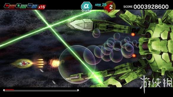 《太空战斗机:爆发-编年史救世主》游戏截图