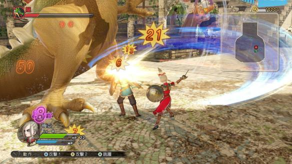 《勇者斗恶龙:英雄》中文游戏截图
