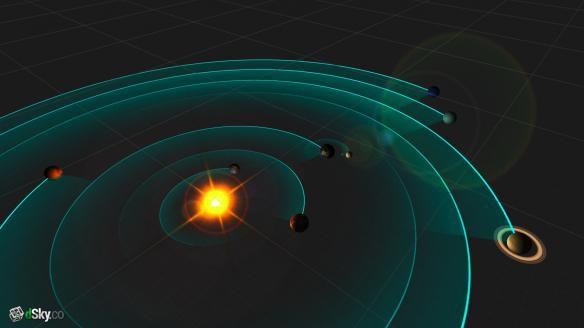 《模拟太阳系》游戏截图