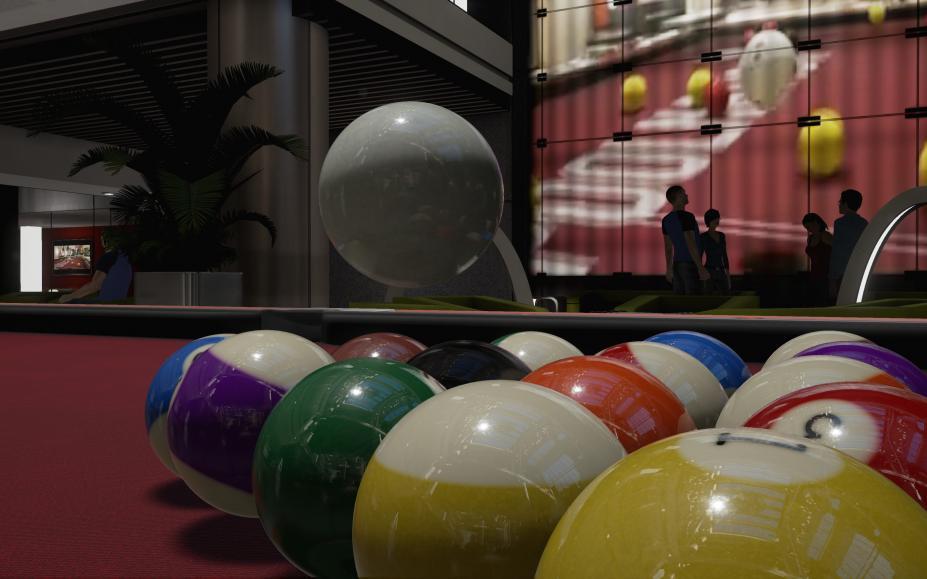 《台球国度FX》游戏截图