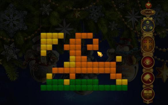 《彩虹马赛克:圣诞灯光》游戏截图
