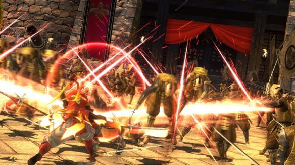 《战国BASARA:真田幸村传》游戏截图-1