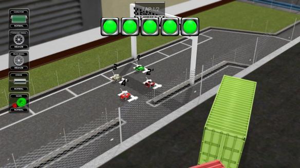 《遥控赛车模拟》游戏截图