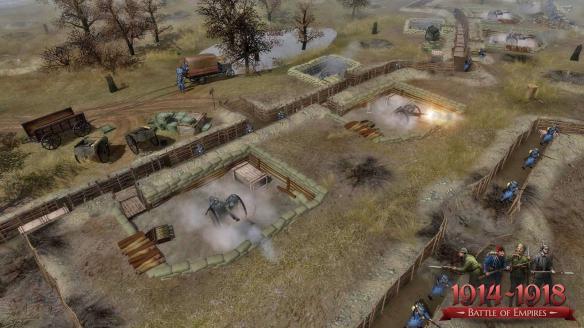 《帝国之战:1914-1918》游戏截图-2