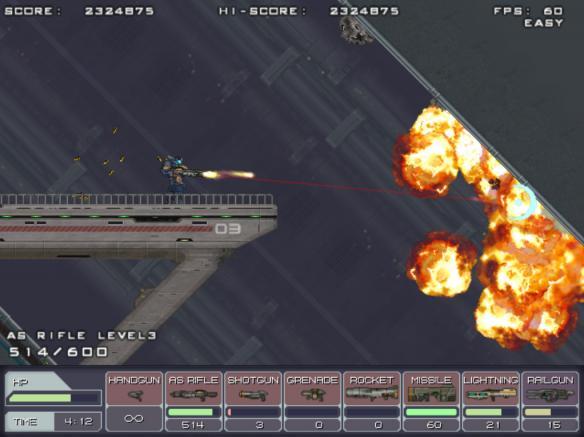 《钢铁挺进者》游戏截图