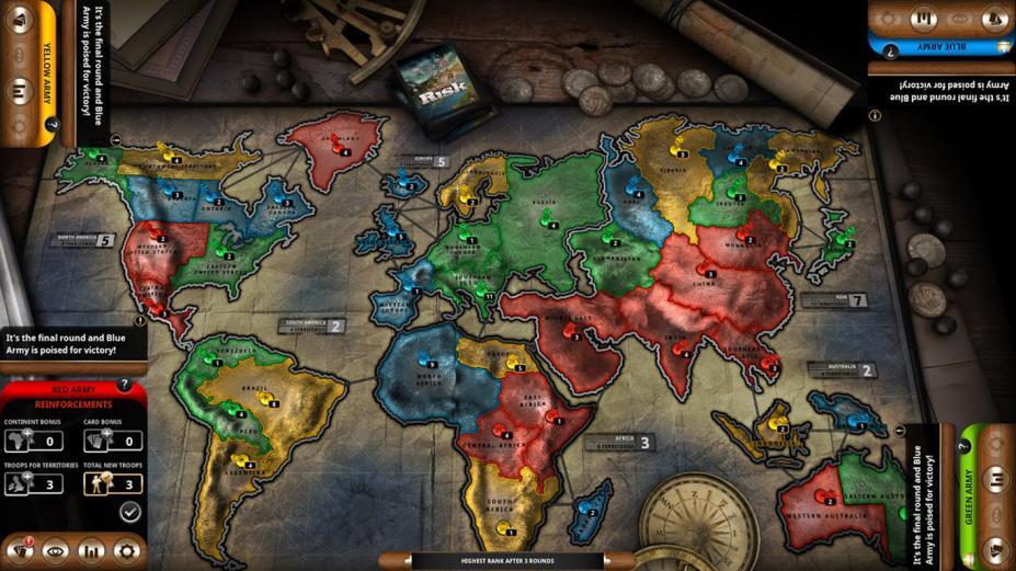 《风险:全球统治桌游》游戏截图(1)