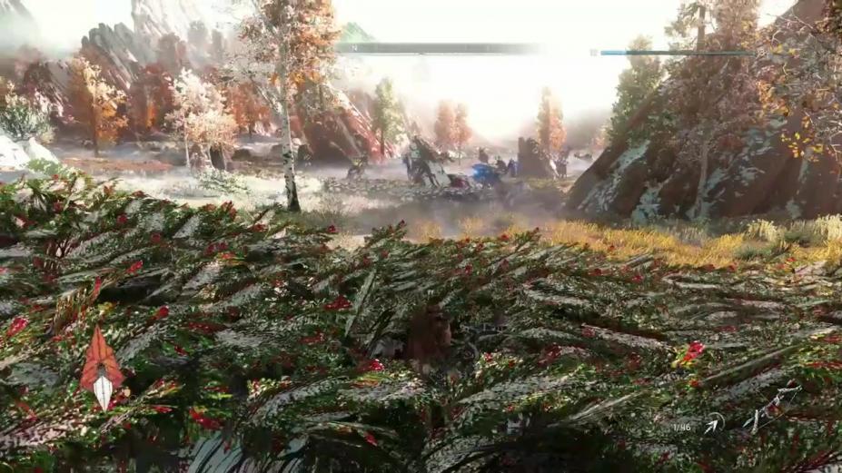 《地平线:黎明时分》游戏截图-2(1)