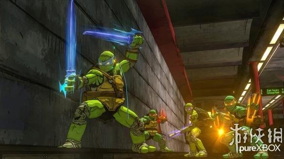 《忍者神龟:曼哈顿突变体》游戏截图-4-1
