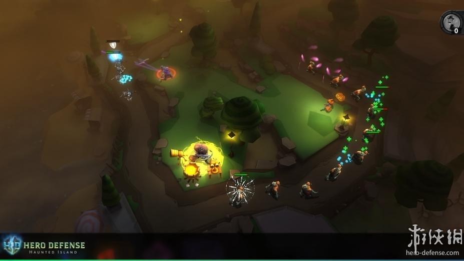 《英雄防御之幽魂岛》游戏截图