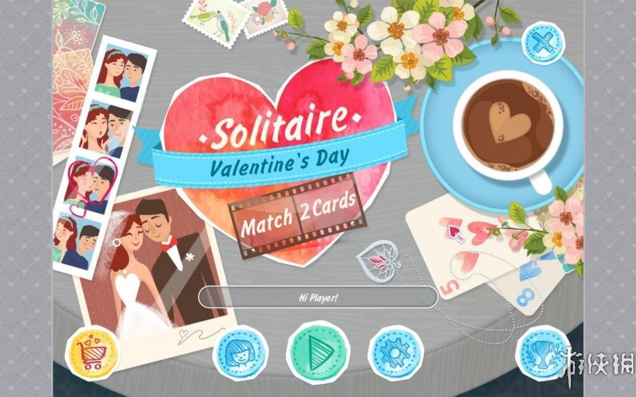 《消除紙牌:情人節》游戲截圖