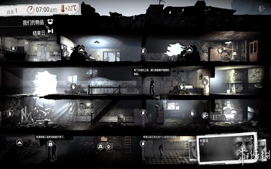 《我的战争》中文游戏截图-1