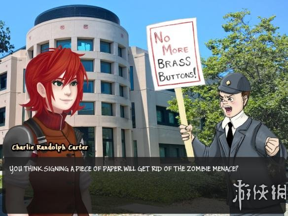 《军队之触:非邪神约会》游戏截图