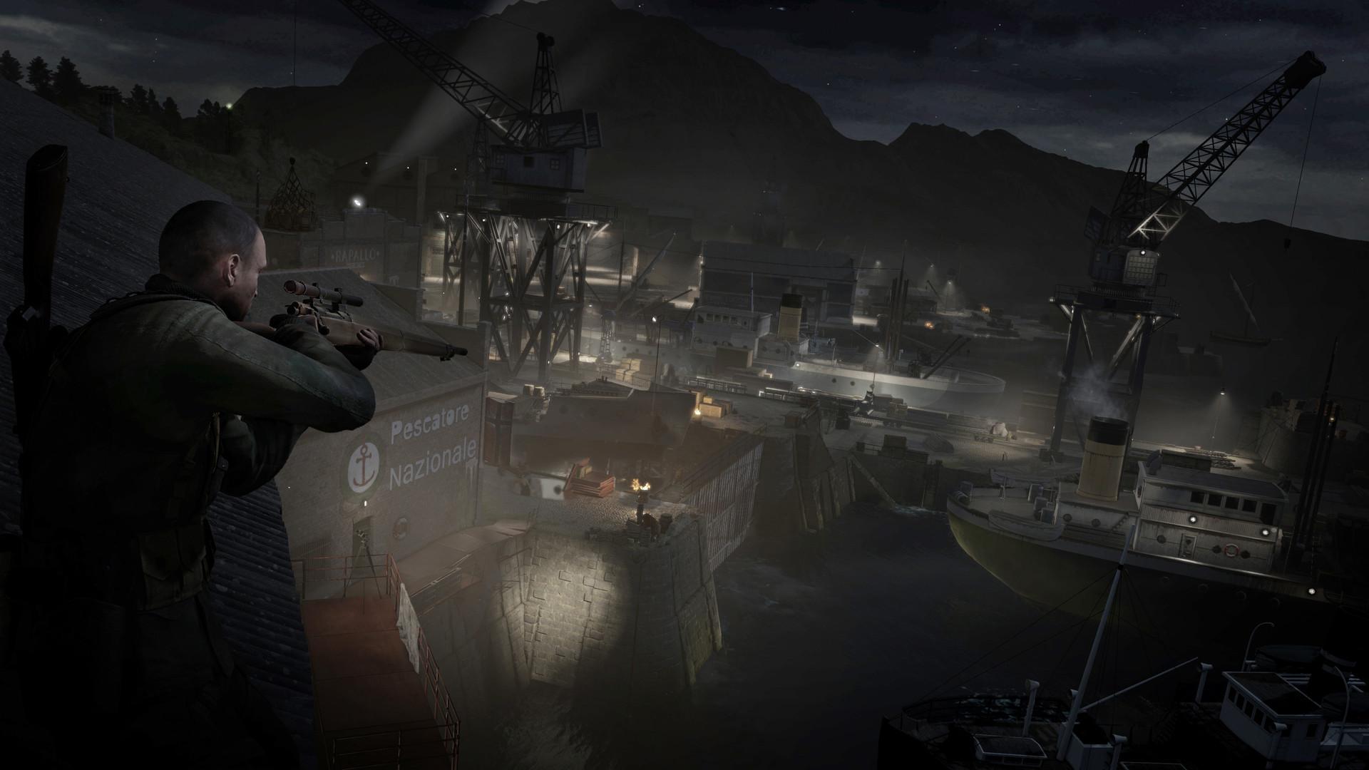 狙击精英4游戏图片欣赏