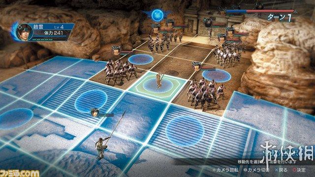 《真三国无双:英杰传》游戏截图-2