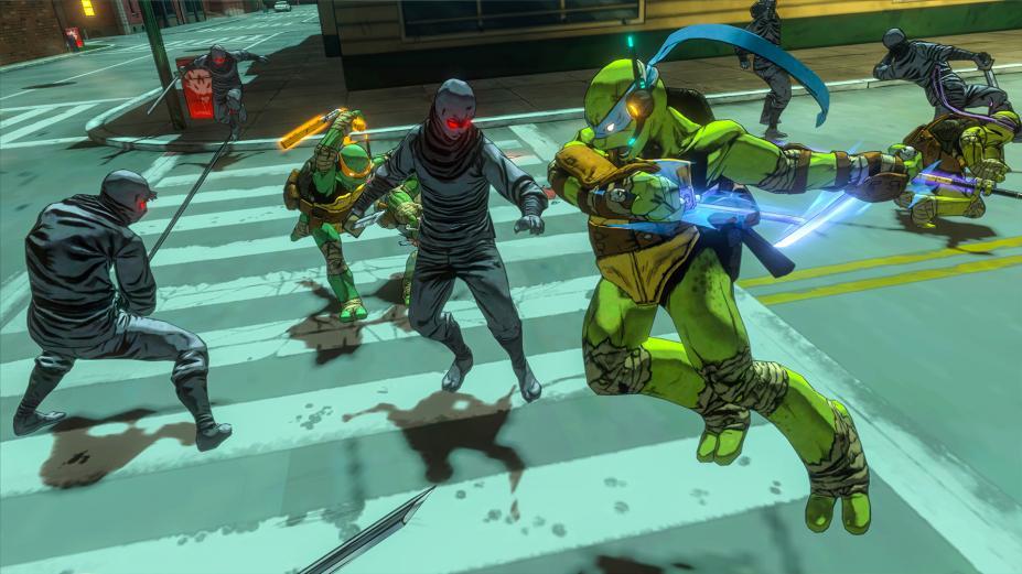 《忍者神龟:曼哈顿突变体》游戏截图-4