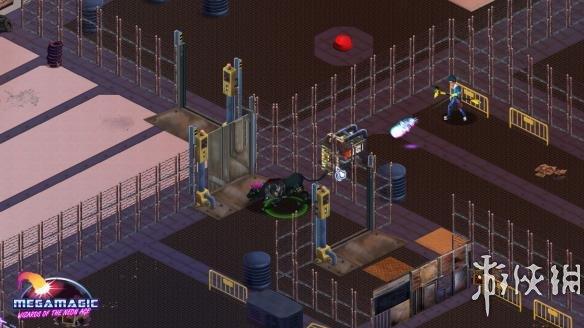 《大魔法:霓虹时代巫师》游戏截图