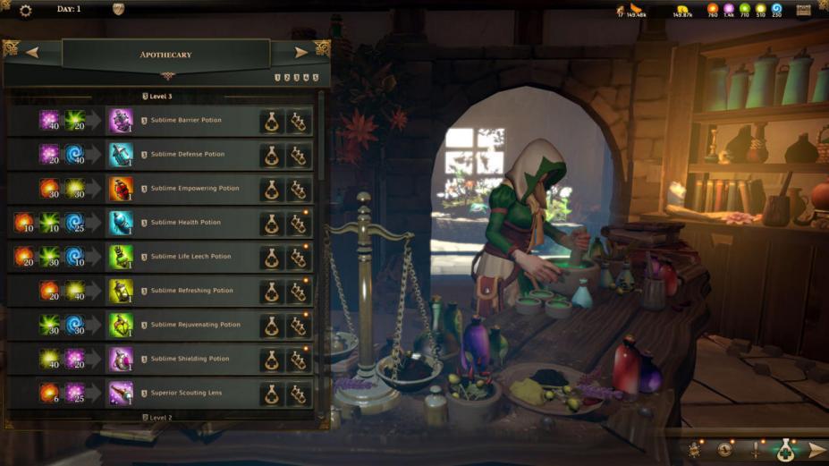 《安特利亚英雄传》游戏截图-1